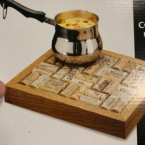 Gift set cork trivet
